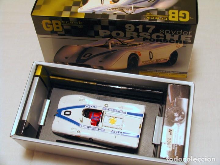 Slot Cars: GB TRACK GB-8 PORSCHE 917 SPYDER Museo Collier de Naples ED LIM Y NUMERADA - Foto 6 - 194149167