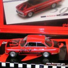 Slot Cars: FLY96061ALFA ROMEO GIULIA GTVBAZAR ALOY 1954-2004 ED LIM Y NUM. Lote 194154450