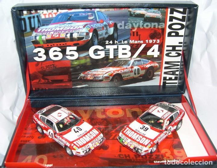 Slot Cars: FLY 96047 Team 09 FERRARI 365GTB/4 DAYTONA 24h Le Mans 1973 - Foto 4 - 194160133