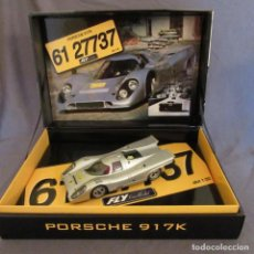 Slot Cars: FLY 96055 S-81 PORSCHE 917K CONDE ROSSI ROAD CAR. Lote 194163885