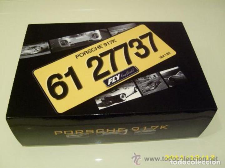Slot Cars: FLY 96055 S-81 PORSCHE 917K Conde Rossi road car - Foto 7 - 194163885