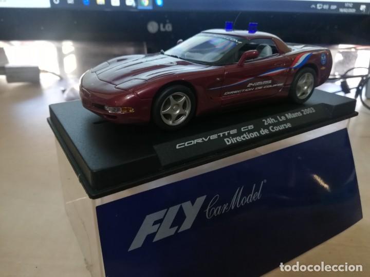 CHEVROLET CORVETTE C-5 SCALEXTRIC DE FLY DIRECTION DE COURSE (Juguetes - Slot Cars - Fly)