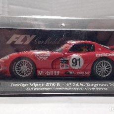 Slot Cars: SLOT DODGE VIPER GTS R ESCALA 1:32. Lote 194240692