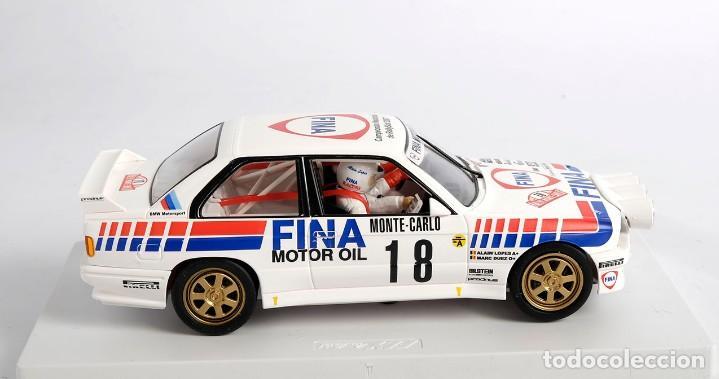 Slot Cars: BMW M3 E-30. ED ESPECIAL CAMPEONATO NACIONAL RALLYSLOT 2007. FLY. NUEVO - Foto 4 - 194354142