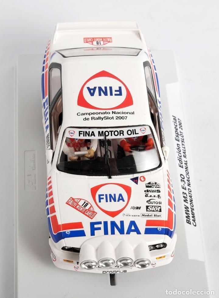 Slot Cars: BMW M3 E-30. ED ESPECIAL CAMPEONATO NACIONAL RALLYSLOT 2007. FLY. NUEVO - Foto 6 - 194354142