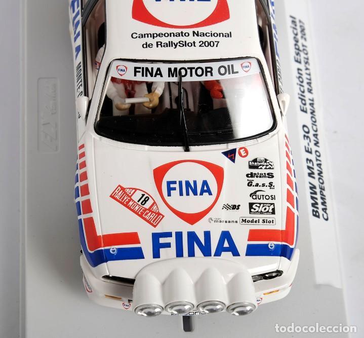 Slot Cars: BMW M3 E-30. ED ESPECIAL CAMPEONATO NACIONAL RALLYSLOT 2007. FLY. NUEVO - Foto 7 - 194354142