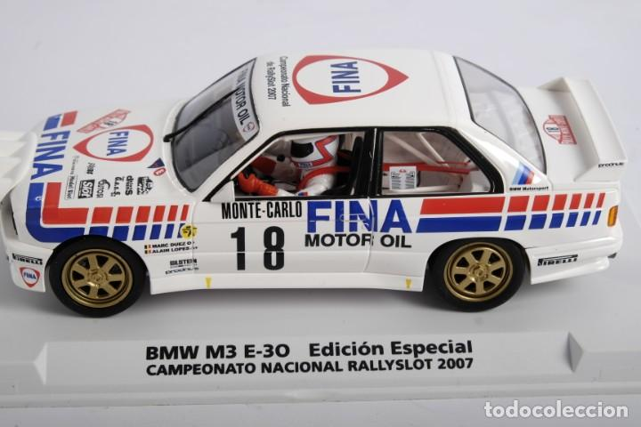Slot Cars: BMW M3 E-30. ED ESPECIAL CAMPEONATO NACIONAL RALLYSLOT 2007. FLY. NUEVO - Foto 8 - 194354142