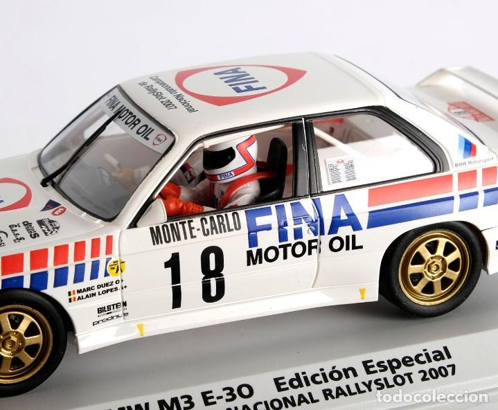 Slot Cars: BMW M3 E-30. ED ESPECIAL CAMPEONATO NACIONAL RALLYSLOT 2007. FLY. NUEVO - Foto 9 - 194354142