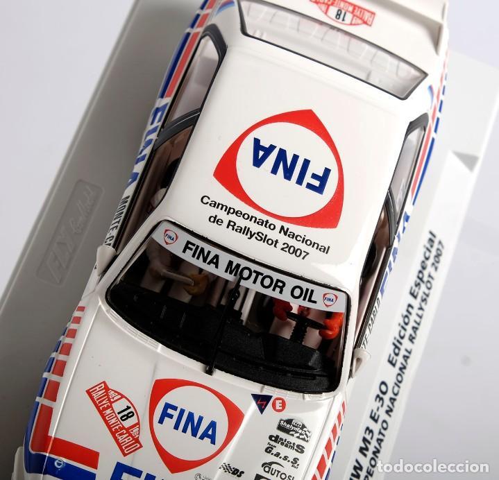 Slot Cars: BMW M3 E-30. ED ESPECIAL CAMPEONATO NACIONAL RALLYSLOT 2007. FLY. NUEVO - Foto 10 - 194354142