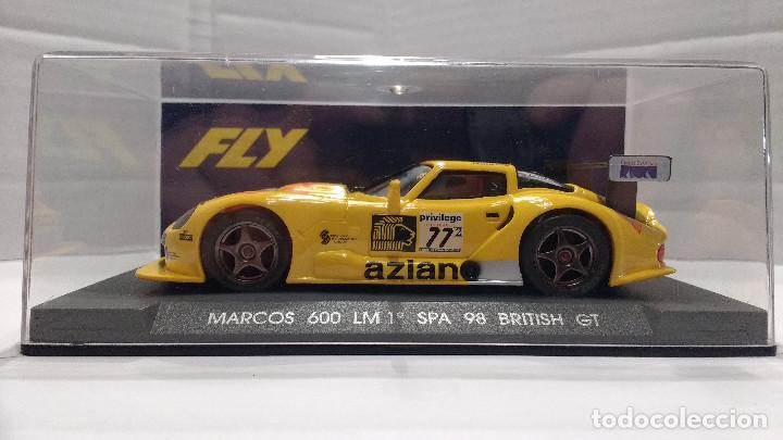 SLOT MARCOS 600 LM ESCALA 1:32 (Juguetes - Slot Cars - Fly)