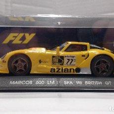 Slot Cars: SLOT MARCOS 600 LM ESCALA 1:32. Lote 194508428