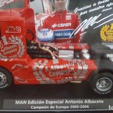Slot Cars: MAN EDICIÓN ESPECIAL ANTONIO ALBACETE FLY. Lote 194667910