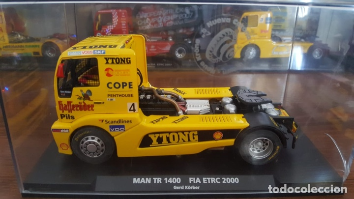 MAN TR 1400 FIA ETRC 2000 GERD KORBER FLY (Juguetes - Slot Cars - Fly)
