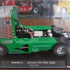 Slot Cars: MAN JARAMA FIA ETRC 2003 STUART OLIVER FLY. Lote 194738250