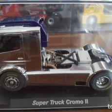 Slot Cars: SÚPER TRACK CROMO II MERCEDES BENZ ATEGO FLY. Lote 194739387