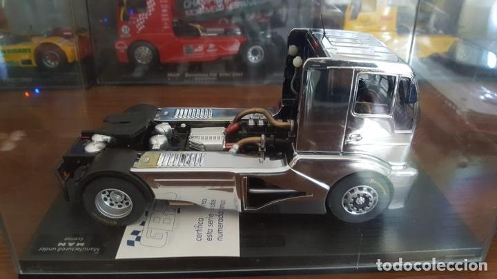 Slot Cars: Súper truck cromo III MAN TR1400 Fly - Foto 3 - 194740181