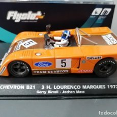 Slot Cars: 024101 - CHEVRON B21 TEAM GUNSTOM Nº5 DE FLYSLOT. Lote 194778490