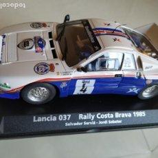 Slot Cars: LANCIA 037. Lote 195022717