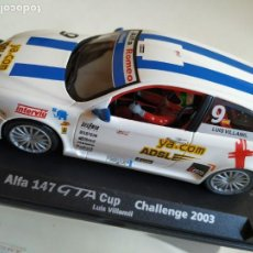 Slot Cars: ALFA 147 GTA CUP. Lote 195023885
