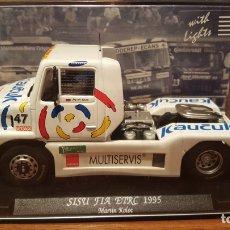 Slot Cars: SISU SL 250 ETRC 1995 MARTIN KOLOC FLY. Lote 195149502