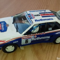 Slot Cars: AUDI QUATTRO ROTHMANS FLY SLOT RALLY ANTIBES. Lote 195163393