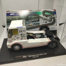 Slot Cars: FLY TRUCK MAN TR1400 BARCELONA FA ETRC 2007 MICHAL DOLAK REF. 08055. Lote 195340178