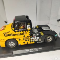 Slot Cars: FLY SISU FIA ETRC 1993 MINNA KUOPPALA CONTINENTAL. Lote 195389748