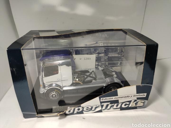 Slot Cars: FLY MERCEDES SUPER TRUCK CROMO II EDICIÓN LIMITADA REF. 96008 - Foto 6 - 195514992