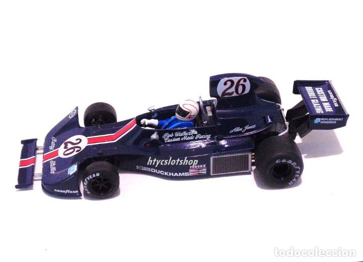 Slot Cars: FLY HESKETH 308 #26 GP MONACO 1975 ALAN JONES A2007 - Foto 3 - 206569077