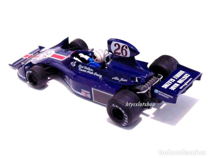 Slot Cars: FLY HESKETH 308 #26 GP MONACO 1975 ALAN JONES A2007 - Foto 4 - 206569077
