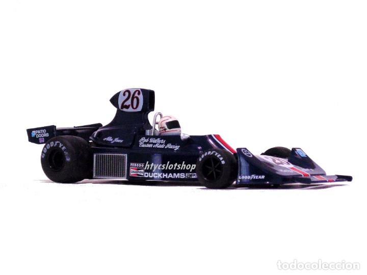 Slot Cars: FLY HESKETH 308 #26 GP MONACO 1975 ALAN JONES A2007 - Foto 5 - 206569077