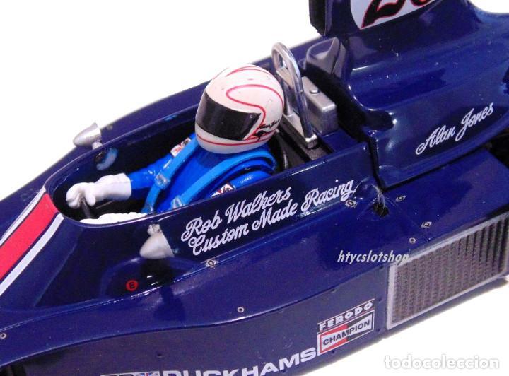 Slot Cars: FLY HESKETH 308 #26 GP MONACO 1975 ALAN JONES A2007 - Foto 9 - 206569077