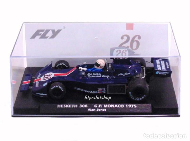 Slot Cars: FLY HESKETH 308 #26 GP MONACO 1975 ALAN JONES A2007 - Foto 14 - 206569077