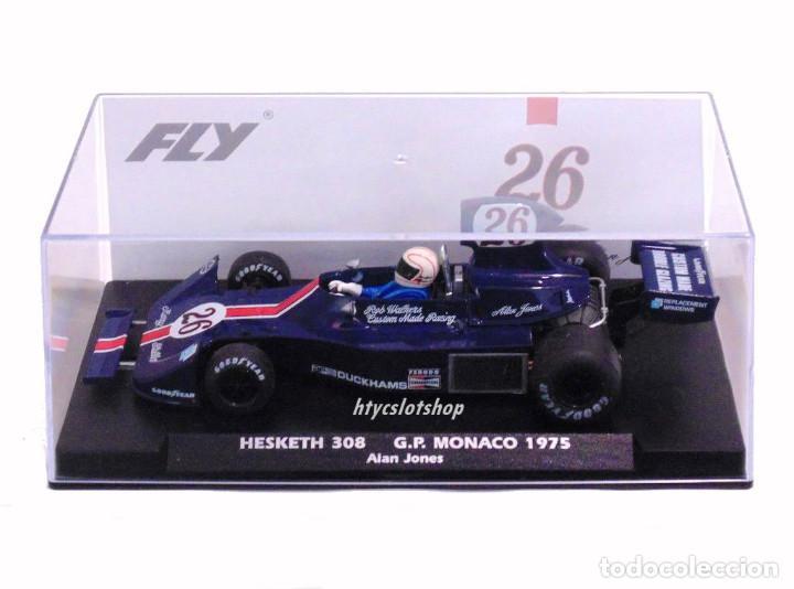 Slot Cars: FLY HESKETH 308 #26 GP MONACO 1975 ALAN JONES A2007 - Foto 14 - 206569077
