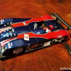 Slot Cars: FLY PANOZ LMP - 1 - SPIRIT OF AMERICA. Lote 196075405