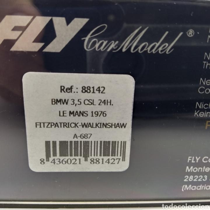 Slot Cars: BMW 3.5 CSL 24h Le Mans 1976 Fly Fitzpatrick - Walkinshaw. Referencia 88142 - Foto 6 - 196139636