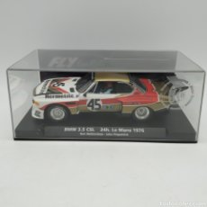 Slot Cars: BMW 3.5 CSL 24H LE MANS 1976 FLY FITZPATRICK - WALKINSHAW. REFERENCIA 88142. Lote 196139636