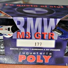 Slot Cars: BMW M3 GTR DE FLY EDICIÓN ESPECIAL PARA LAS JUGUETERIAS POLY. NÚMERO 177. Lote 196795618