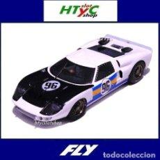 Slot Cars: FLY FORD GT40 #96 24 HS DAYTONA 1966 CHRIS AMON / BRUCE MCLAREN A2014. Lote 196933572