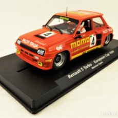 Slot Cars: SLOT FLY 88188 RENAULT 5 TURBO EUROPEAN CUP . Lote 197092883