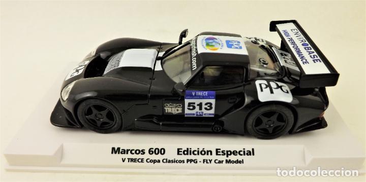Slot Cars: Slot Fly 99070 Marcos LM 600 Ed. Especial TRECE - Foto 2 - 197093585