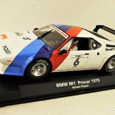 Slot Cars: SLOT FLY 88194 BMW M1 PROCAR. Lote 197119710