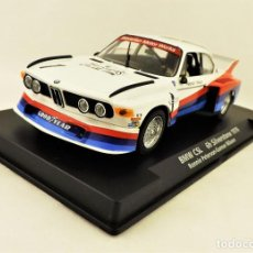 Slot Cars: SLOT FLY 88198 BMW CSL SIVERSTONE. Lote 197119925