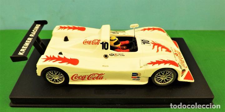 Slot Cars: Slot Fly 88050 Lola B98 Coca Cola - Foto 5 - 197121757