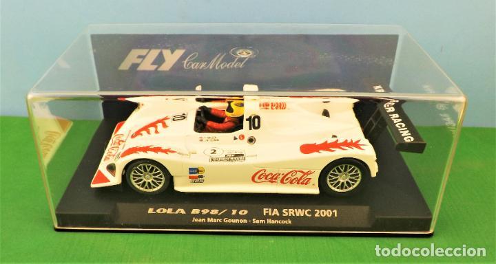 Slot Cars: Slot Fly 88050 Lola B98 Coca Cola - Foto 6 - 197121757