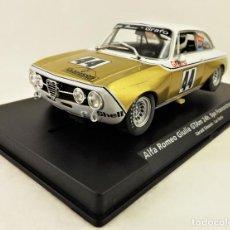 Slot Cars: SLOT FLY 88216 ALFA ROMEO GIULIA 24 H SPA. Lote 197122153
