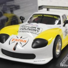 Slot Cars: FLY 88102 A-364 MARCOS LM 600 BRANDS HATCH BGTC 2002. Lote 183851723