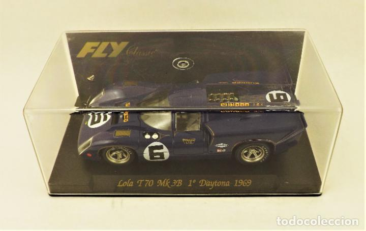Slot Cars: Slot Fly Lola T70 MK 3B - Foto 5 - 197360813