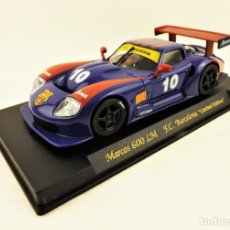 Slot Cars: SLOT FLY MARCOS 600 LM FUTBOL CLUB BARCELONA LIMITED EDITION. Lote 197484976