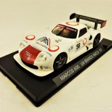 Slot Cars: SLOT FLY MARCOS LM 600 BRANDS HATCH 97. Lote 197563523